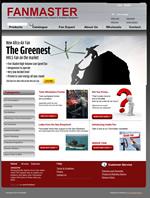 Fanmaster Online E-Commerce Store Website Design